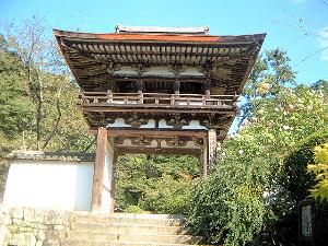 鐘楼門 長岳寺