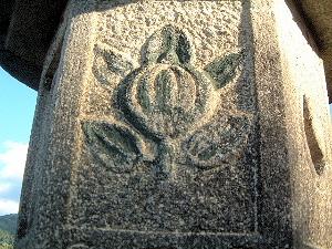 橘寺の石燈籠