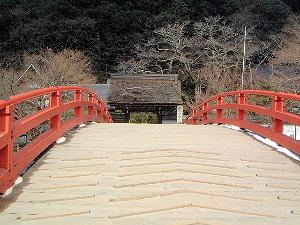 室生寺の太鼓橋