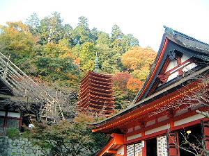 十三重塔と神廟拝所
