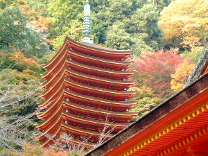 談山神社の十三重塔
