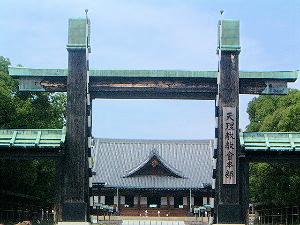 天理教の門