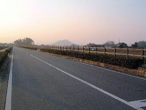 雷丘と畝傍山