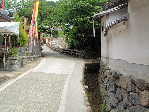 岡寺への坂道 参道