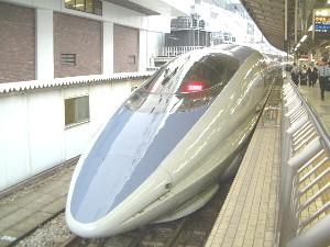 新幹線で奈良へ