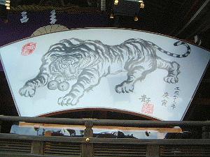 寅の絵馬 大神神社