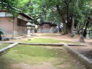 境内の様子 畝尾都多本神社