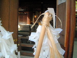 お祓い 飛鳥坐神社