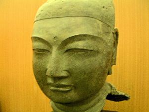 山田寺の仏頭