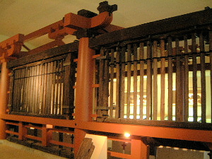 山田寺跡 東回廊
