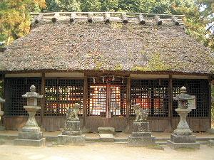 夜都岐神社拝殿