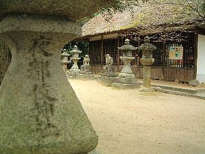 夜都岐神社 拝殿