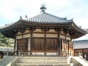 夢殿 法隆寺 世界遺産